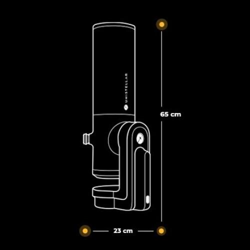 UNISTELLAR, eVscope 114/450 Robotik Teleskop