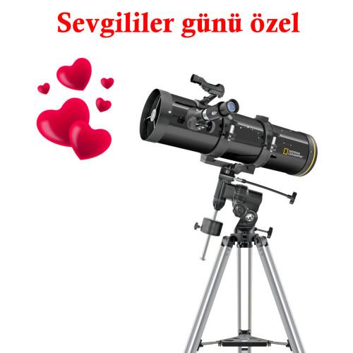 NATIONAL GEOGRAPHIC, 130/650 EQ Aynalı Teleskop