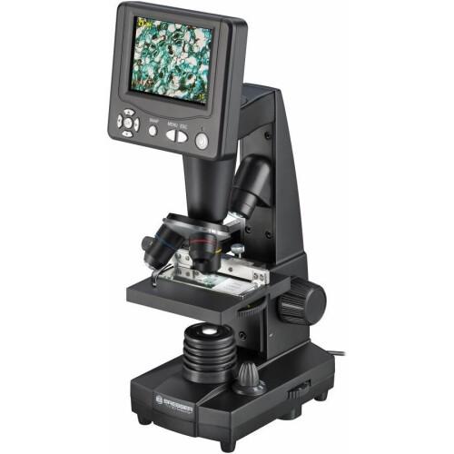 BRESSER, LCD Model, 50x-500x Optik, 2000x Dijital, Biyolojik Dijital Mikroskop